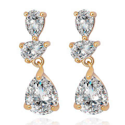 Shops Earrings  Fine Droplet Shape ERZ0272