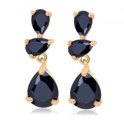 Earrings  Fine Droplet Shape ERZ0272 -