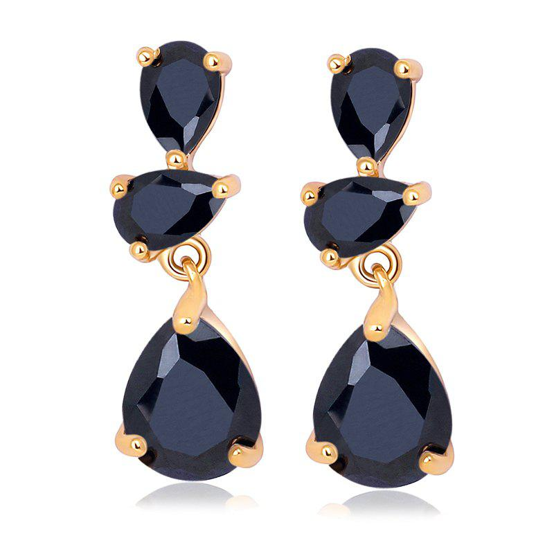 Shop Earrings  Fine Droplet Shape ERZ0272