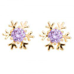 Fashionable Snowflake Earrings ERZ0275 -