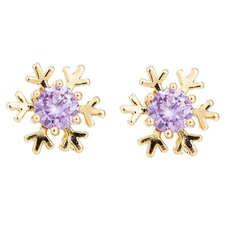 Hot Fashionable Snowflake Earrings ERZ0275