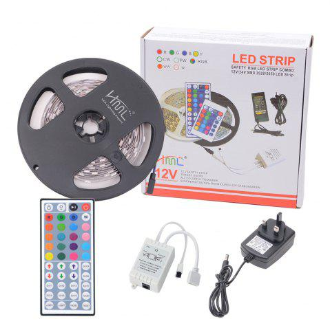 Store HML  5050 x150  RGB LED Lights Kit with 44key IR Remote Controller and UK-plug
