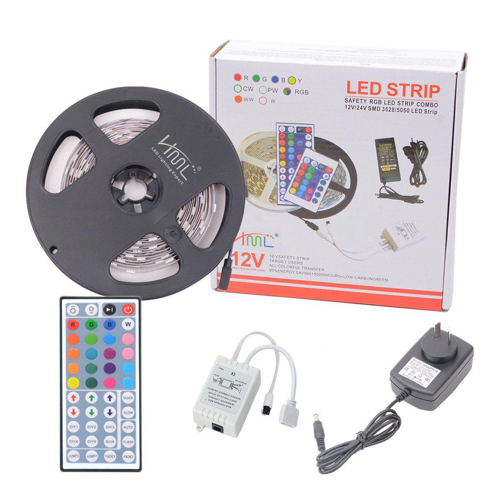 Cheap HML 5050 x150 RGB LED Lights Kit  with 44key IR Remote Controller and AU-plug