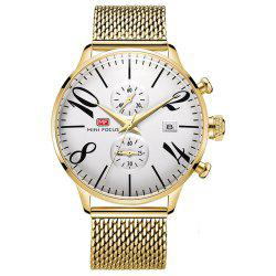 MINIFOCUS Men Luxury Famous Male Quartz Wrist Watch -
