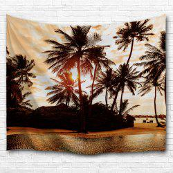 The Setting Sun 3D Printing Home Wall Hanging Tapestry for Decoration -