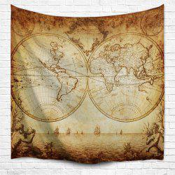 World Map 3D Printing Home Wall Hanging Tapestry for Decoration -