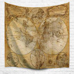 Multifaceted World Map 1746 3D  Home Wall Hanging Tapestry for Decoration -