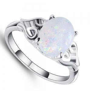 Heart - shaped Simple Couple Ring -