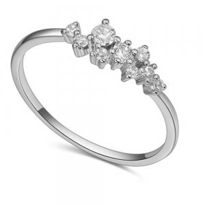 Fashionable Diamond Couple Ring -