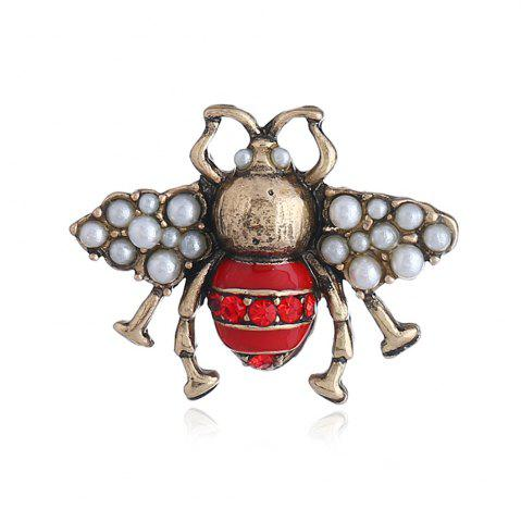 Best Three-Dimensional Cute Clothing Three Color Bee Brooch