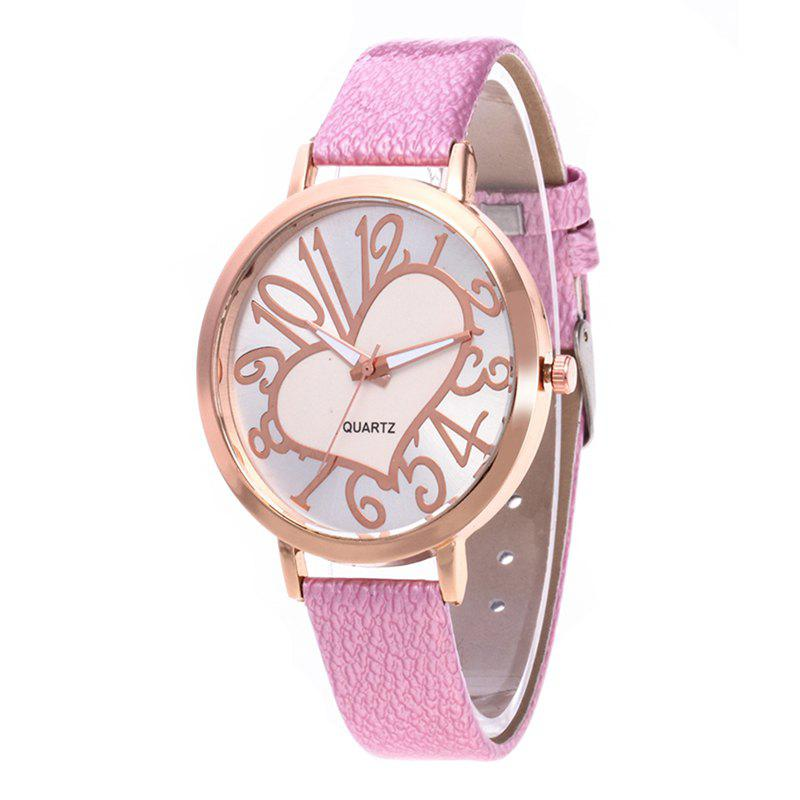 Shop Love Arabic Numerals Dial Women Watch