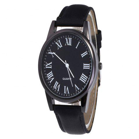 New Men Watch with Solid Color Dial