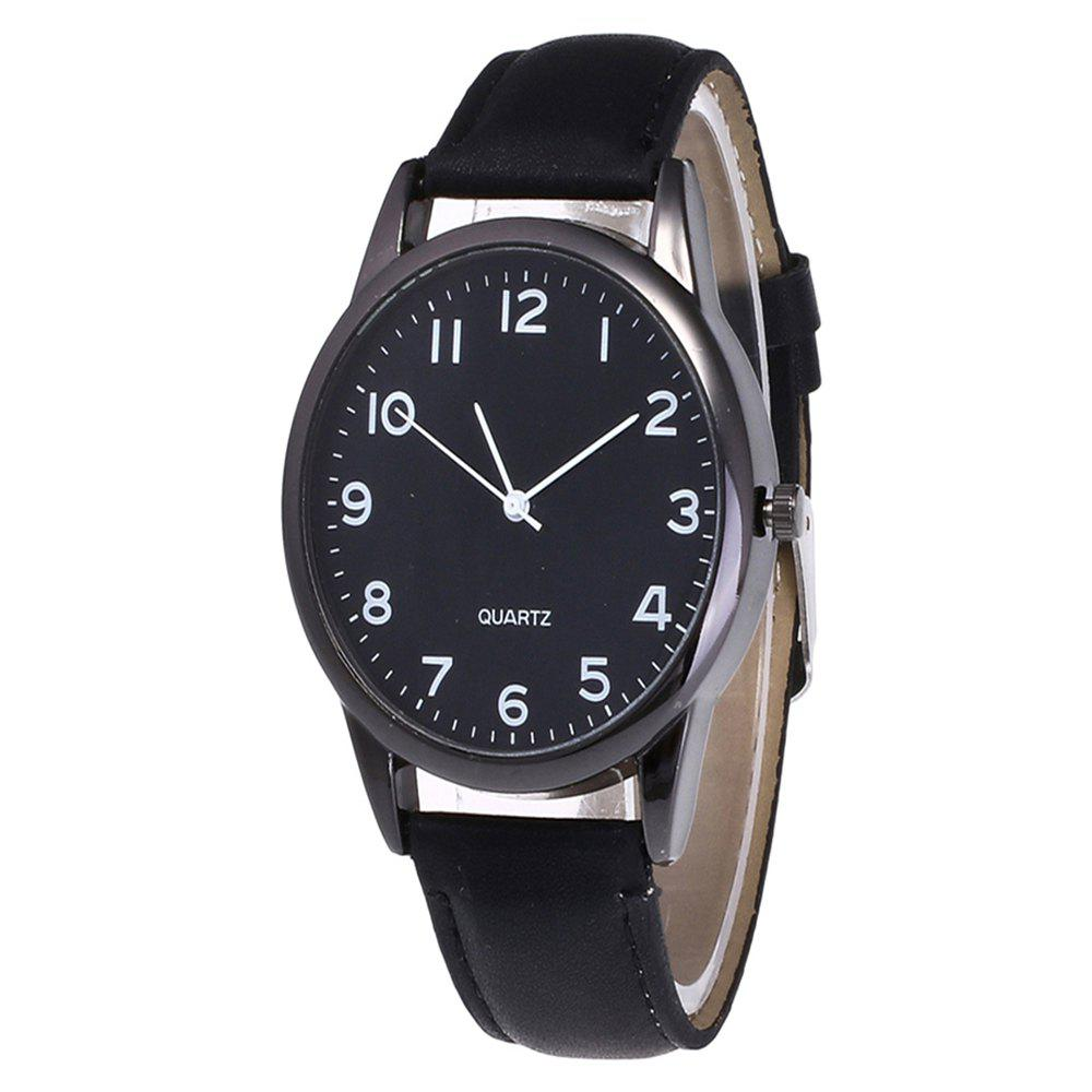 Hot Fashionable Simple Man Leather Watch