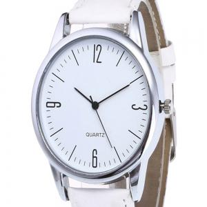 Simple Arabic Numerals  Scale Men Watch -