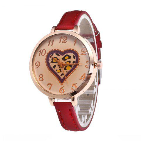 Love Tea Color Dial Women Watch