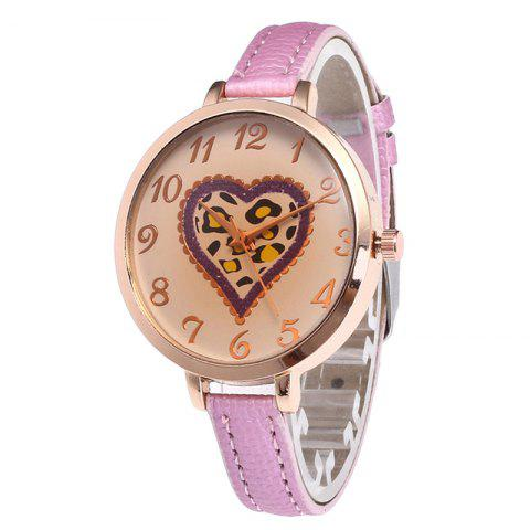 Outfit Love Tea Color Dial Women Watch