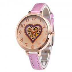 Love Tea Color Dial Femmes Montre -