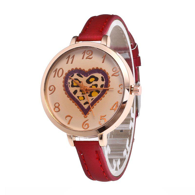 Sale Love Tea Color Dial Women Watch