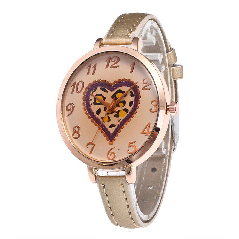 Online Love Tea Color Dial Women Watch