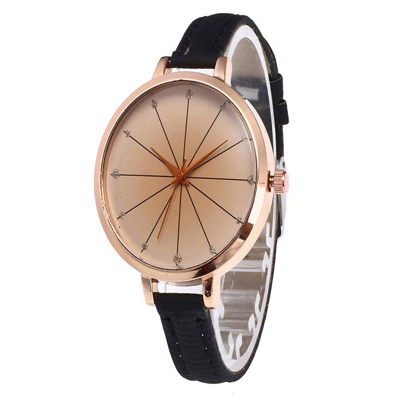 Online Tea Color Dial Women Quartz Watch