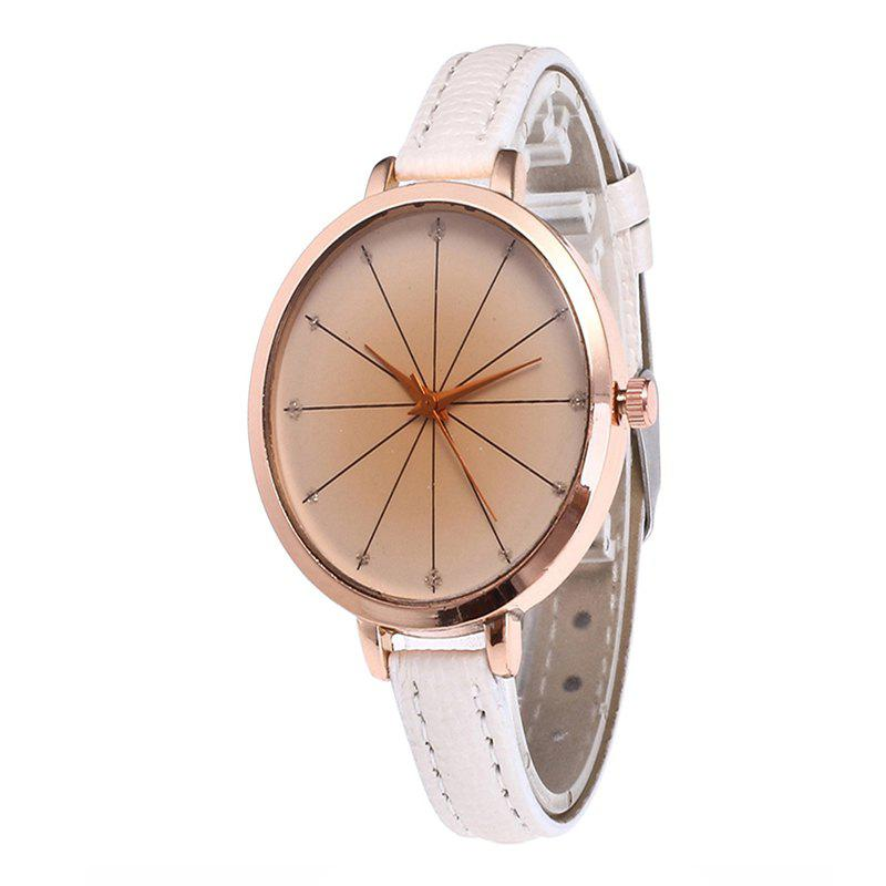 Affordable Tea Color Dial Women Quartz Watch
