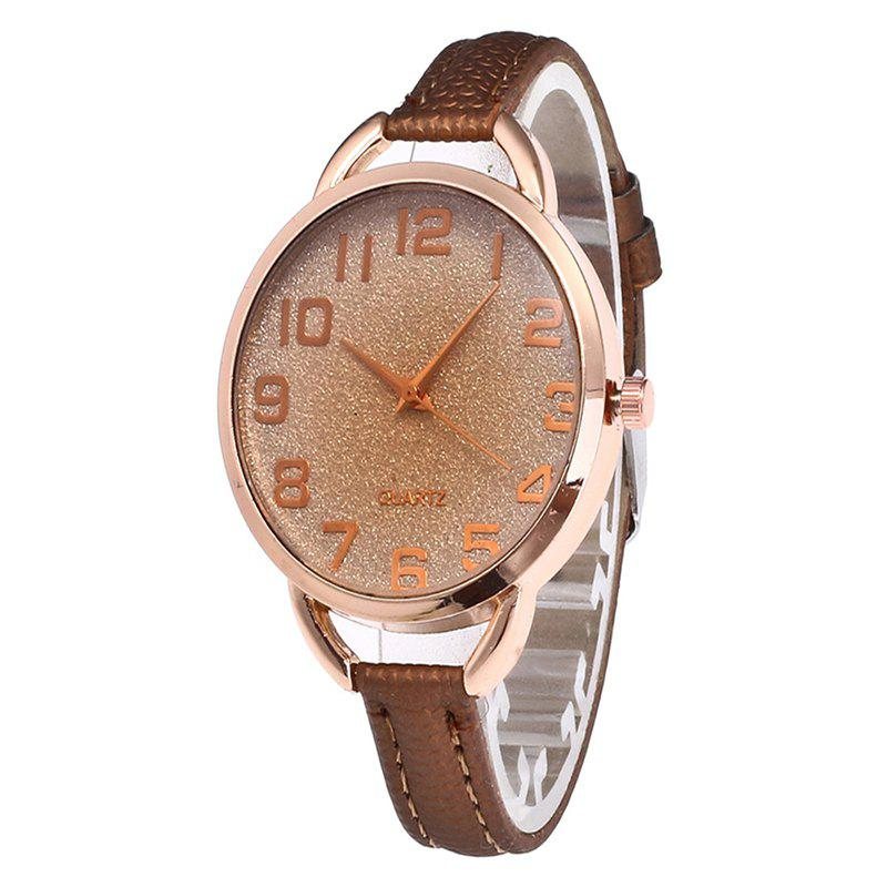 Trendy Simple Digital Scale Quartz Watch