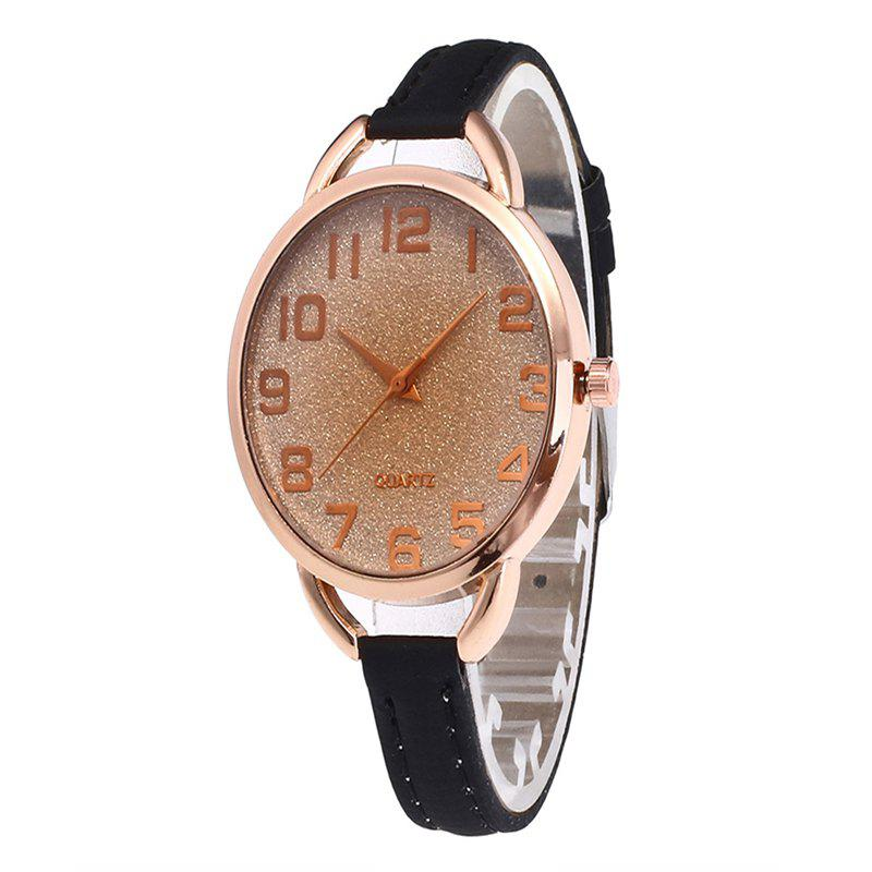 Chic Simple Digital Scale Quartz Watch