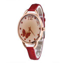 Butterfly Tea Femmes Quartz Montre -