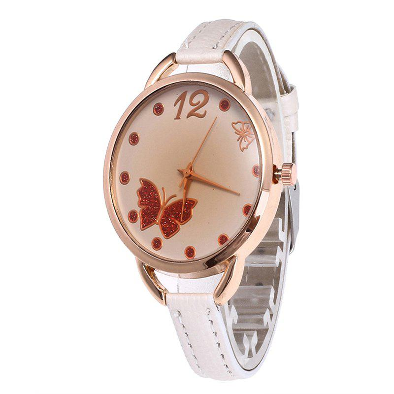 Store Butterfly Tea Women Quartz Watch
