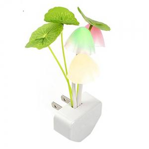 Novelty Night Light Induction Dream Mushroom Fungus LED Lamp MULTI -