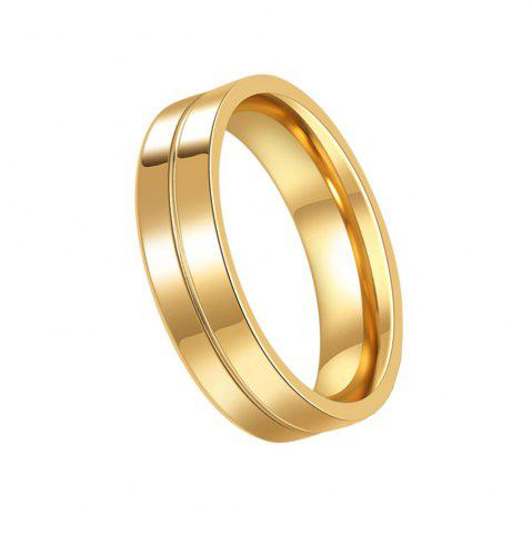 Cheap Men's Steel Lovers Gold-Plated Rings 01191 Personality Gifts Jewelry