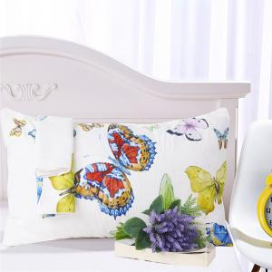 Flying Butterflies Bedding  Duvet Cover Set Digital Print 3pcs -