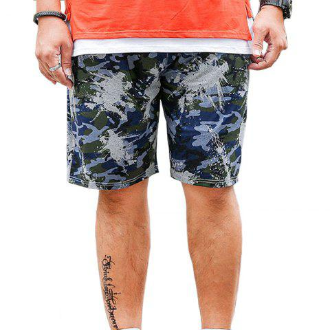 Store Summer Fashion Leisure Camouflage Large Size Men's Shorts