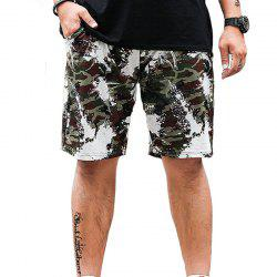 Summer Fashion loisirs camouflage grande taille shorts pour hommes -