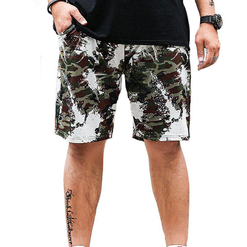 Summer Fashion loisirs camouflage grande taille shorts pour hommes