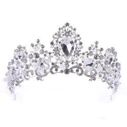 New Heart Diamond Crown Bride Handband Decoration -