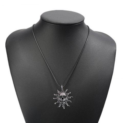 Sale Fashion Personality Sun Devil Necklace Men Simple Titanium Steel Pendant