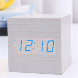 Led Mini Wood Electronic Clock -