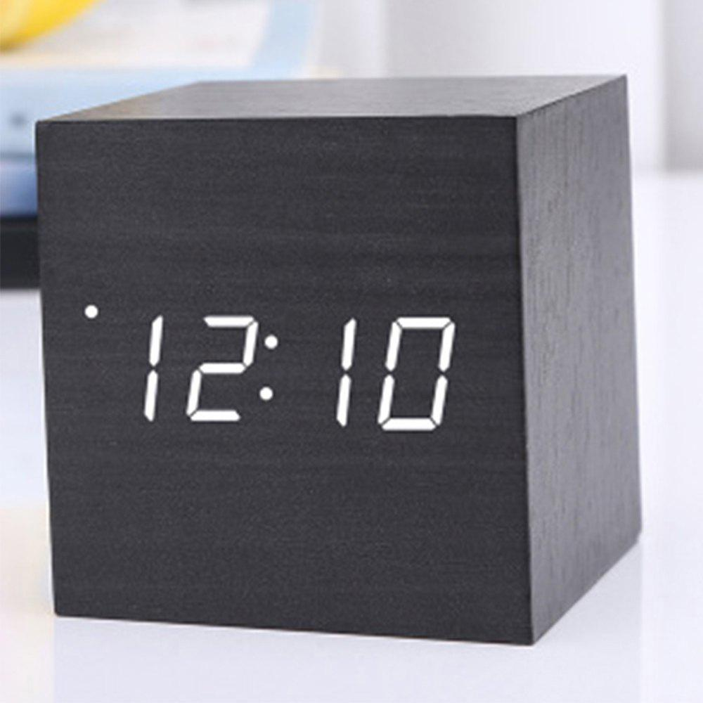 Outfits Led Mini Wood Electronic Clock