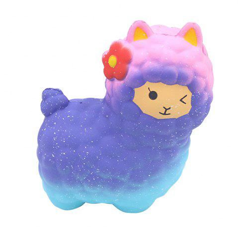 Affordable Slow Rebound Colorful Jumbo Squishy Sheep Toy