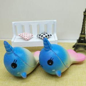 Slow Rebound Unicorn Jumbo Squishy Whale Toy -