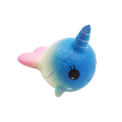 Shop Slow Rebound Unicorn Jumbo Squishy Whale Toy