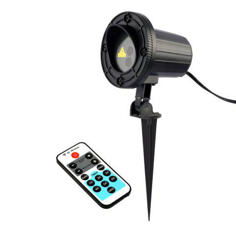 Unique Christmas Theme Patterns Outdoor Waterproof Garden Light  With RF Remote Control