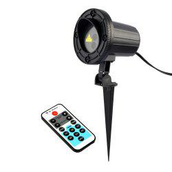 Christmas Theme Patterns Outdoor Waterproof Garden Light  With RF Remote Control -