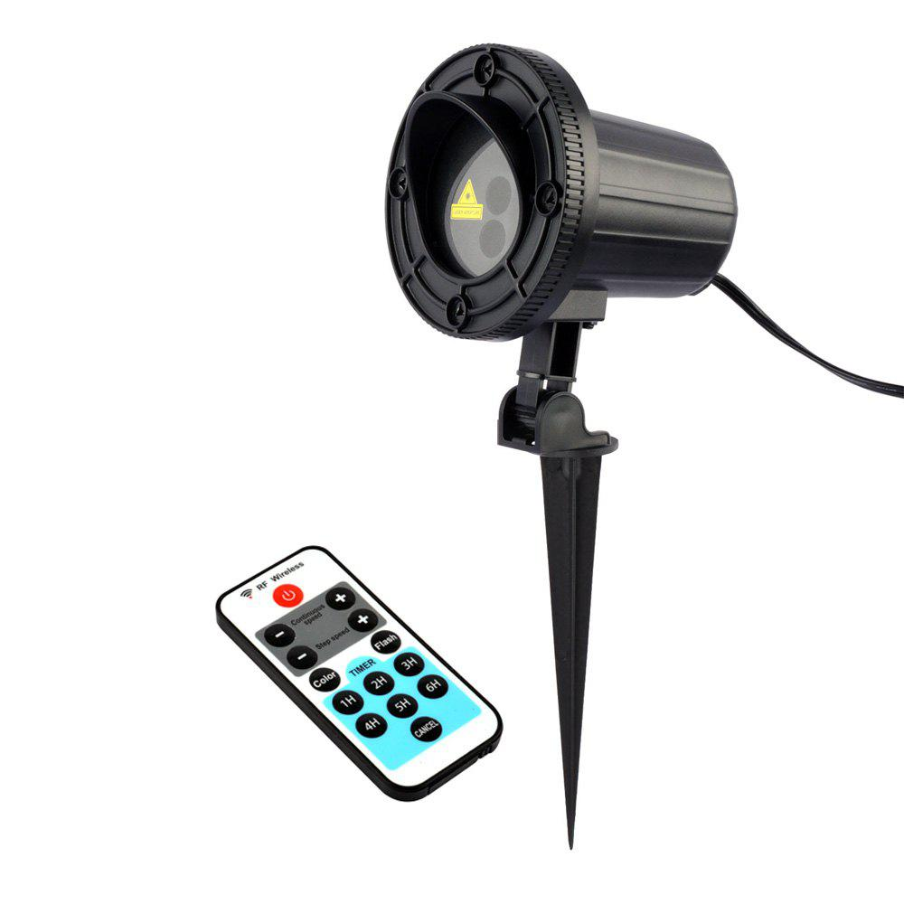 Best Christmas Theme Patterns Outdoor Waterproof Garden Light  With RF Remote Control