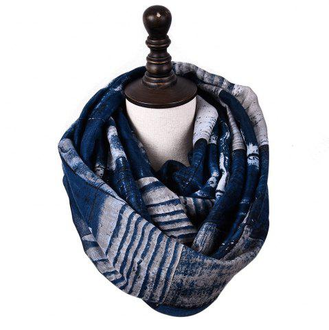 Unique New Fashion Infinity Scarf Women Plaid Print Viscose Snood Circle Scarves
