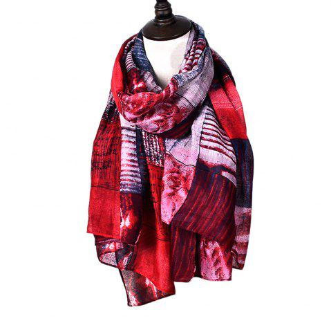 Fashion New Fashion Infinity Scarf Women Plaid Print Viscose Snood Circle Scarves