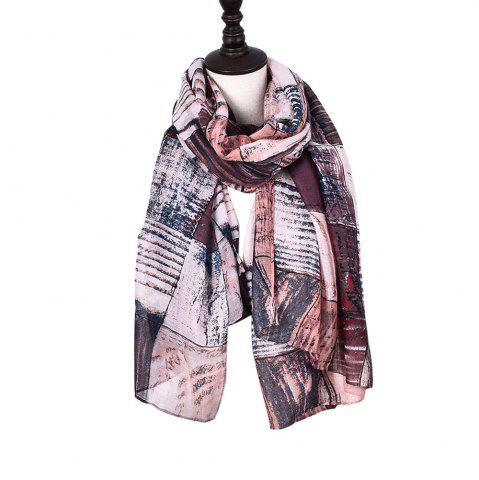 Outfit New Fashion Infinity Scarf Women Plaid Print Viscose Snood Circle Scarves