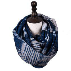 New Fashion Infinity Scarf Women Plaid Print Viscose Snood Circle Scarves -