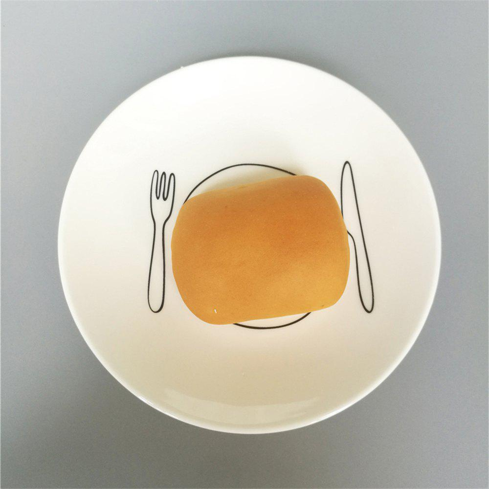 New Creative Nordic Style Ceramic Dinner Plate Round Dish